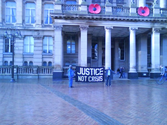 Outside the Council House